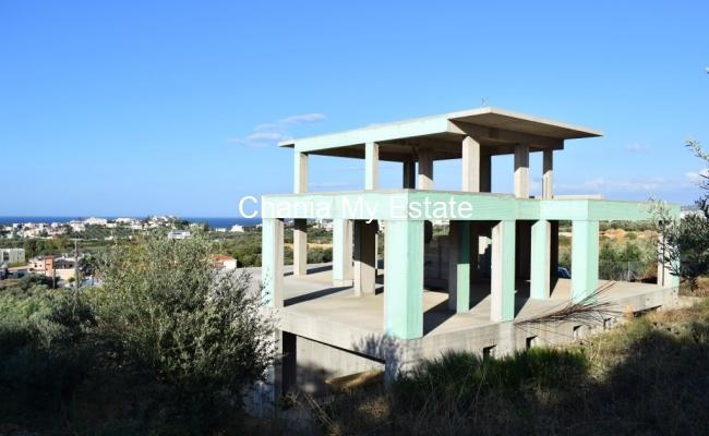 Luxury Villa under construction in Daratsos, Chania