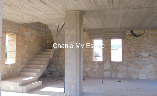 Villa under construction