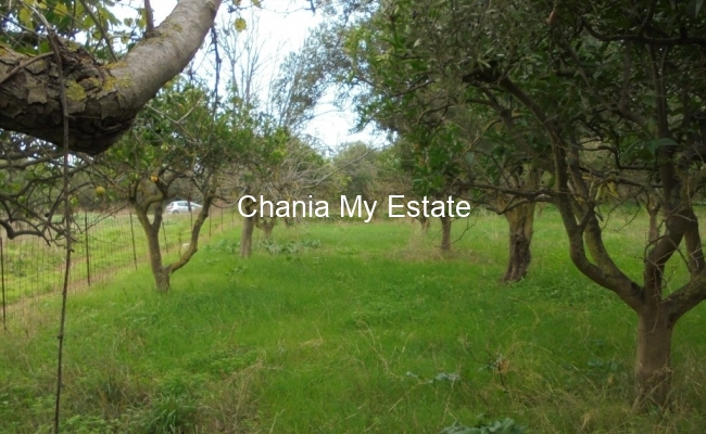 Plot for sale in Maleme, Chania