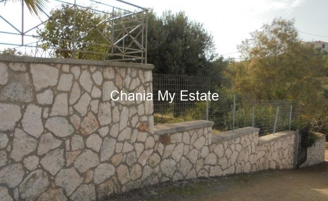 Villa's entrance