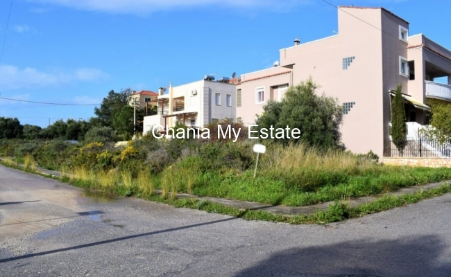 Plot for sale in Kalathas, Chania