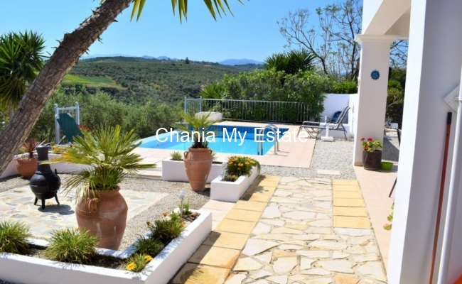 Yard - Wonderful residence in Kolymvari Chania Crete Greece