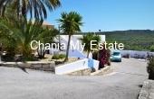 Property's entrance - Wonderful residence in Kolymvari Chania Crete Greece