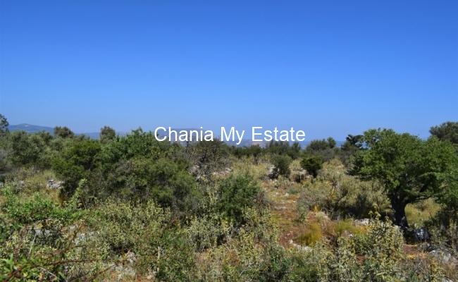 Plot for sale in Litsarda, Chania