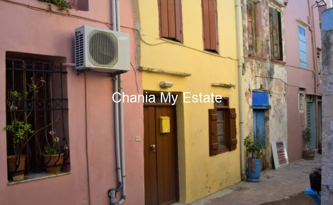 House's view, Old town of Chania