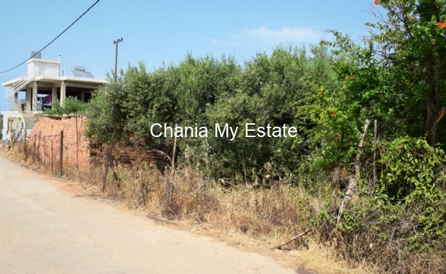 Plot for sale in Agia Marina Chania