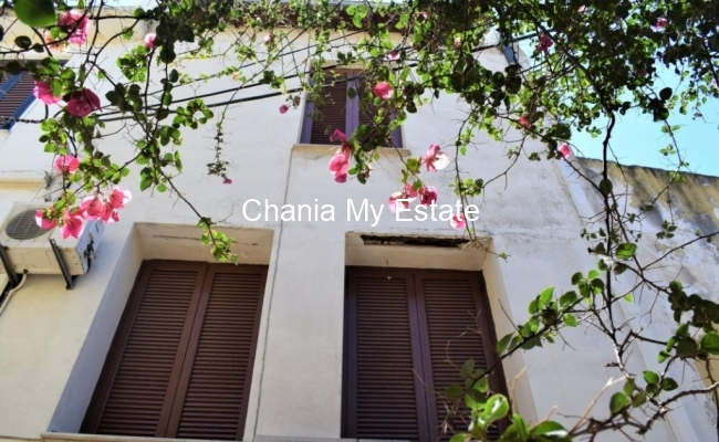 House's view ,Old town of Chania