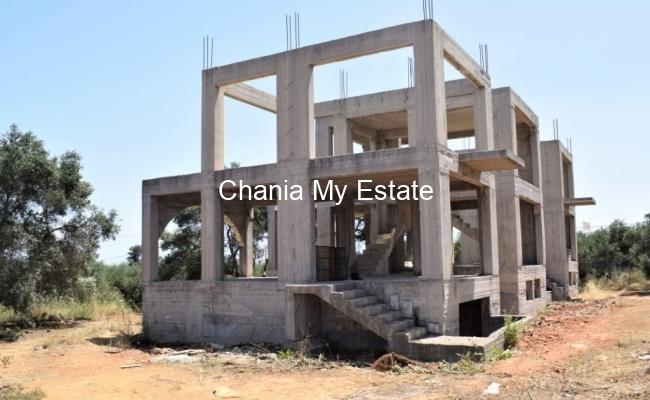 Maisonette under construction Kolybari, Chania