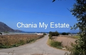 KIMET00009, Plot with sea view for sale in Metohi Kissamos