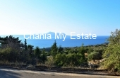 APKOH00035, Plot with sea view for sale in Kokkino Horio Chania