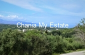 PLXIR00036, Plot with sea view for sale in Xirokampi Platanias