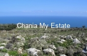 APKOK00046, Plot for sale with wonderful sea view, Kokkino Horio Chania