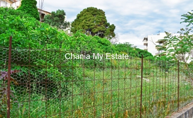 Plot for sale in Chania center