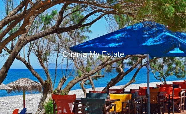 Seafront restaurant for sale in Maleme