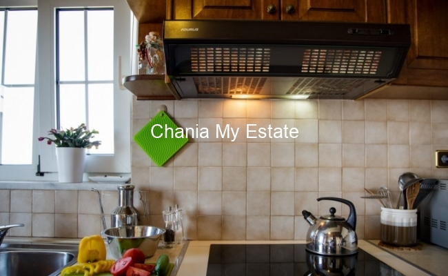 Kitchen - Hotel for sale in Nea Kydonia, Chania Crete Greece