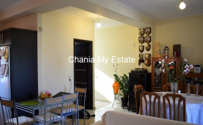 Dining room- House for sale in Tsikalaria, Chania Crete