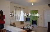 Living room- House for sale in Tsikalaria, Chania Crete