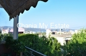 East balcony - House for sale in Tsikalaria, Chania Crete