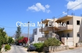 House front view - House for sale in Akrotiri Chania Crete