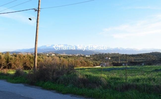 Plot for sale in Kato Galatas Chania