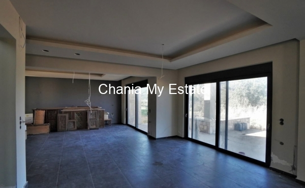 Open plan living dining room view